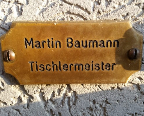Martin Baumann - Tischlermeister