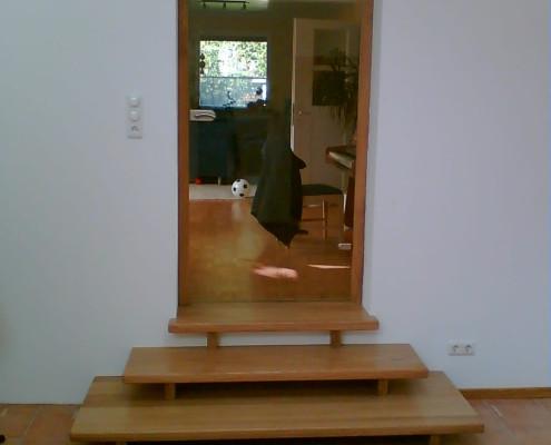Treppenaufgang & Tür - Eiche